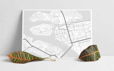 The Perfect Gift: A personal map poster